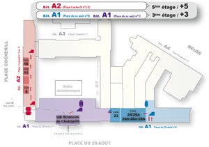 5e étage (A2) = 3e étage (A1)